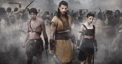 Romulus: Yemos, Wiros e Ilia nella locandina della serie