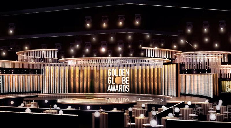 Golden Globes: un'immagine della sala del Beverly Hill's Hotel