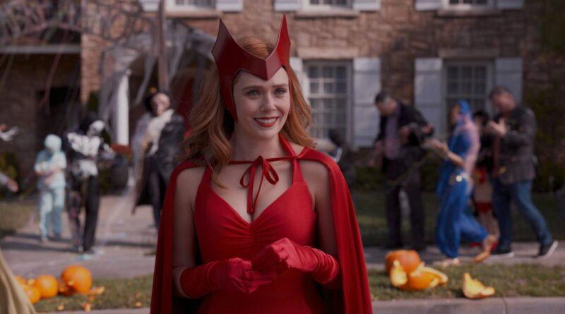 WandaVision: Elizabeth Olsen in una scena della serie