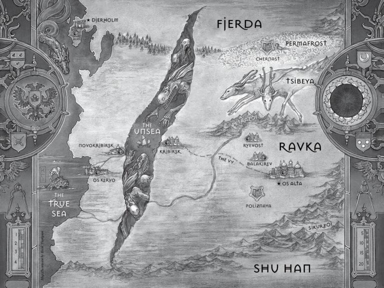 Shadow and Bone: mappa
