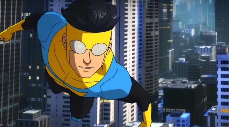 Invincible: una scena della serie animata