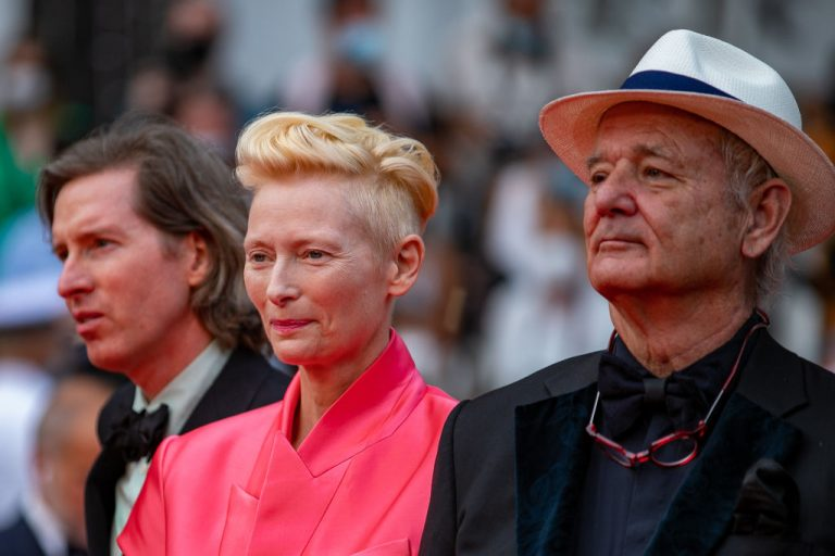 Wes Anderson, Tilda Swinton e Bill Murray a Cannes