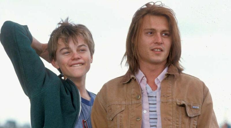 Johnny Depp e Leonardo Di Caprio in una scena del film