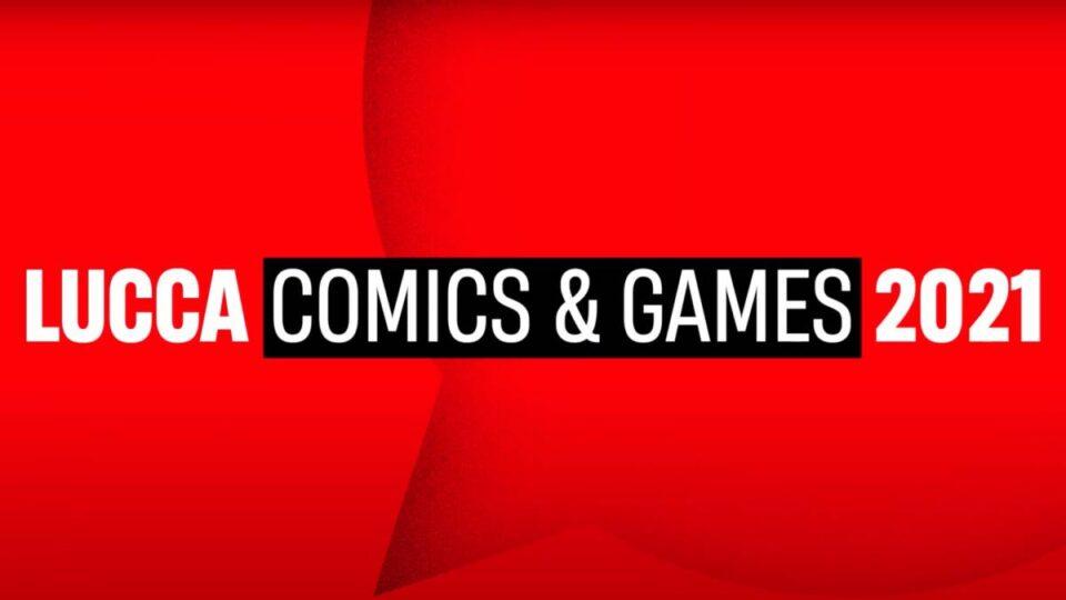 Lucca Comics & Games 2021: il logo dell'evento