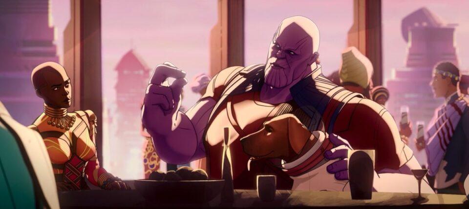 what if: thanos mostra il suo piano ad okoye