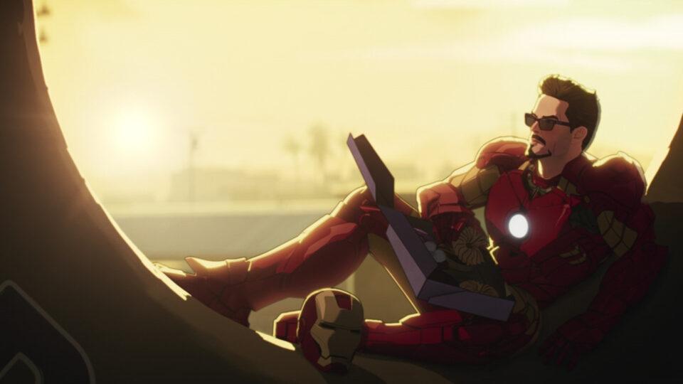 what if: iron man all'interno della ciambella